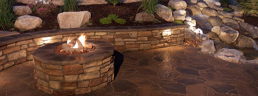 fire pit installation greensboro